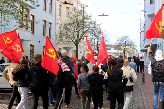 1. Mai Demonstration 2021 Bremerhaven 4