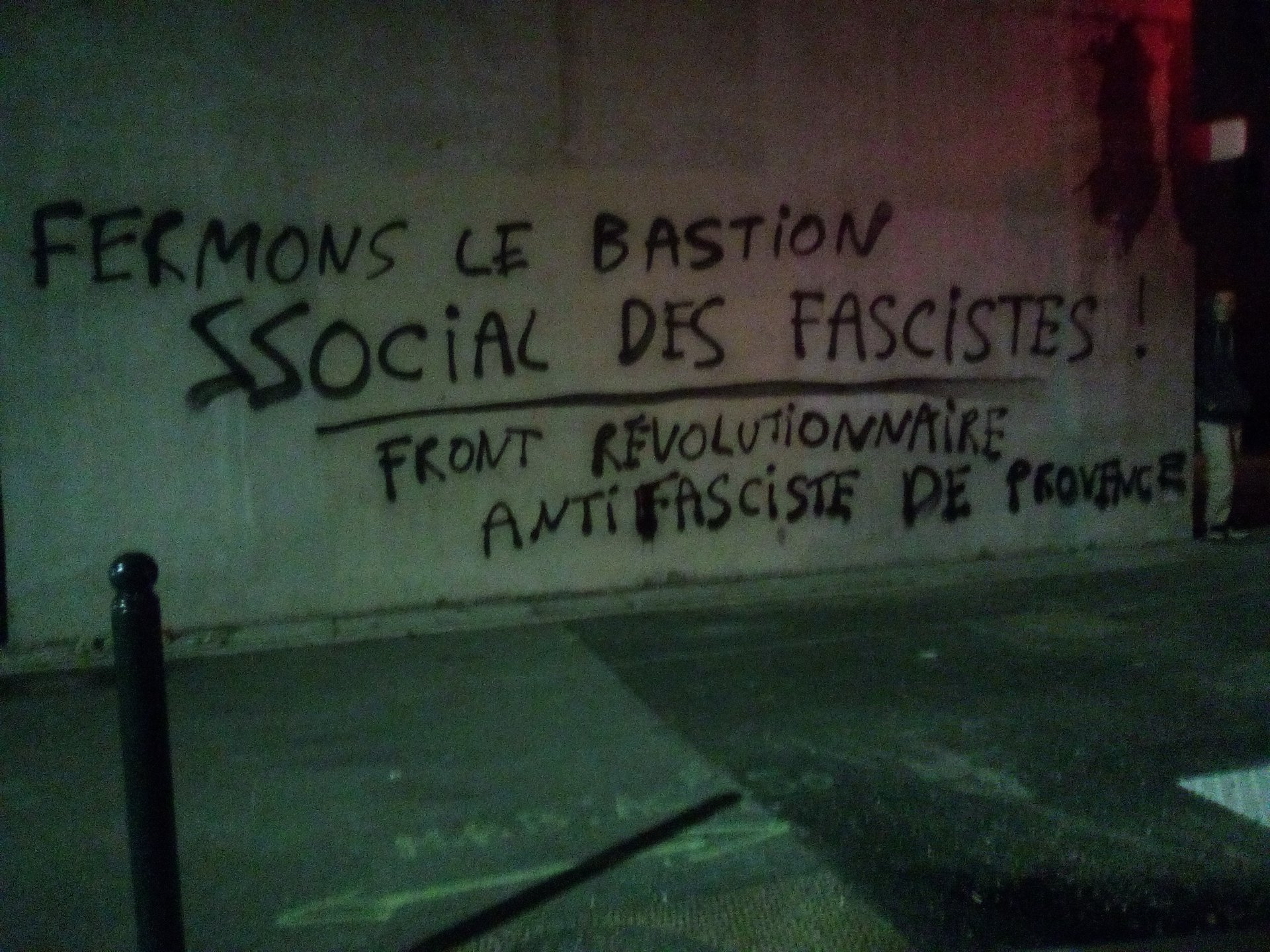 antifa Grafitti marseille