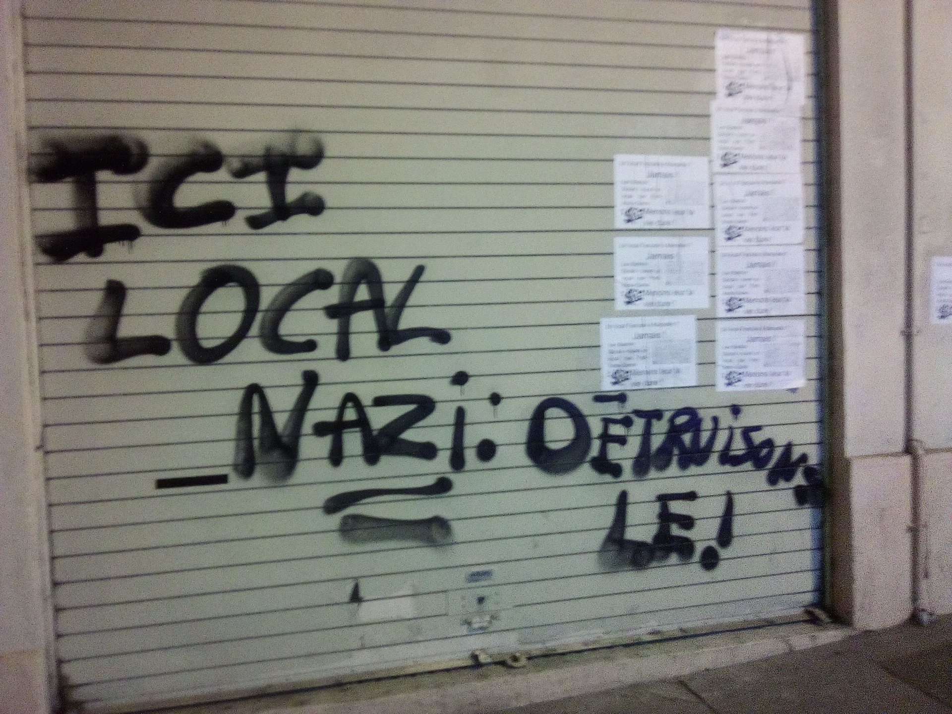 antifa Grafitti marseille 2