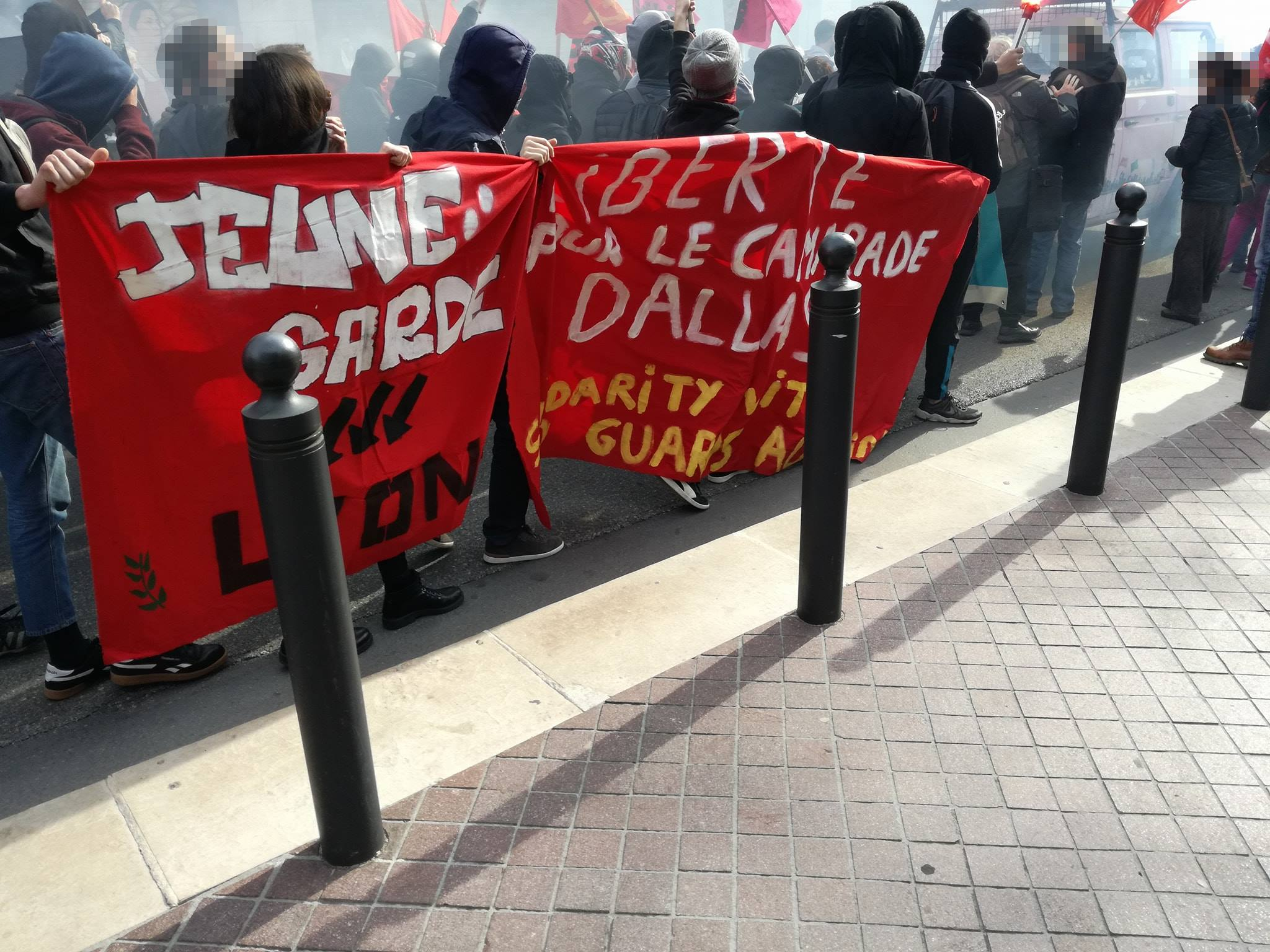 antifa demo marseille 2