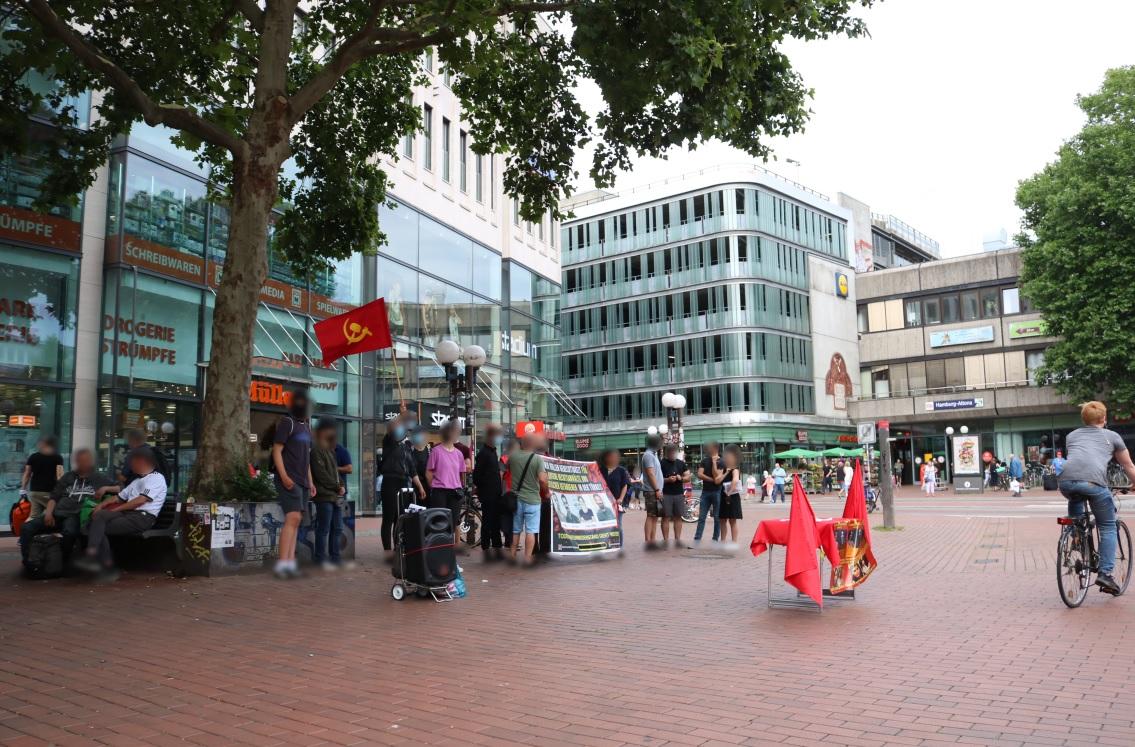 Hamburg Kundgebung Anwälte des Volkes Türkei August2020 2