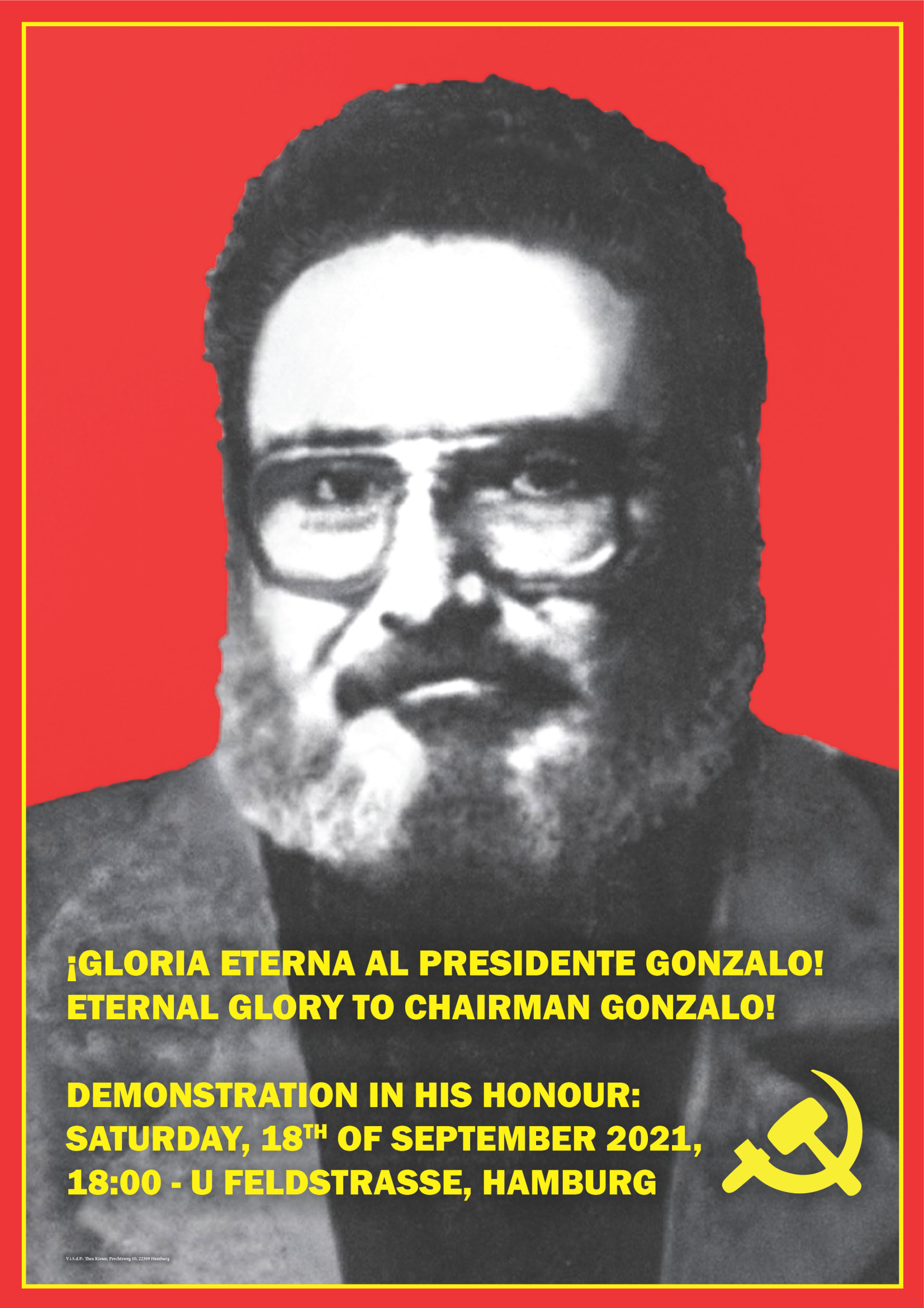 ETERNAL GLORY TO CHAIRMAN GONZALO!