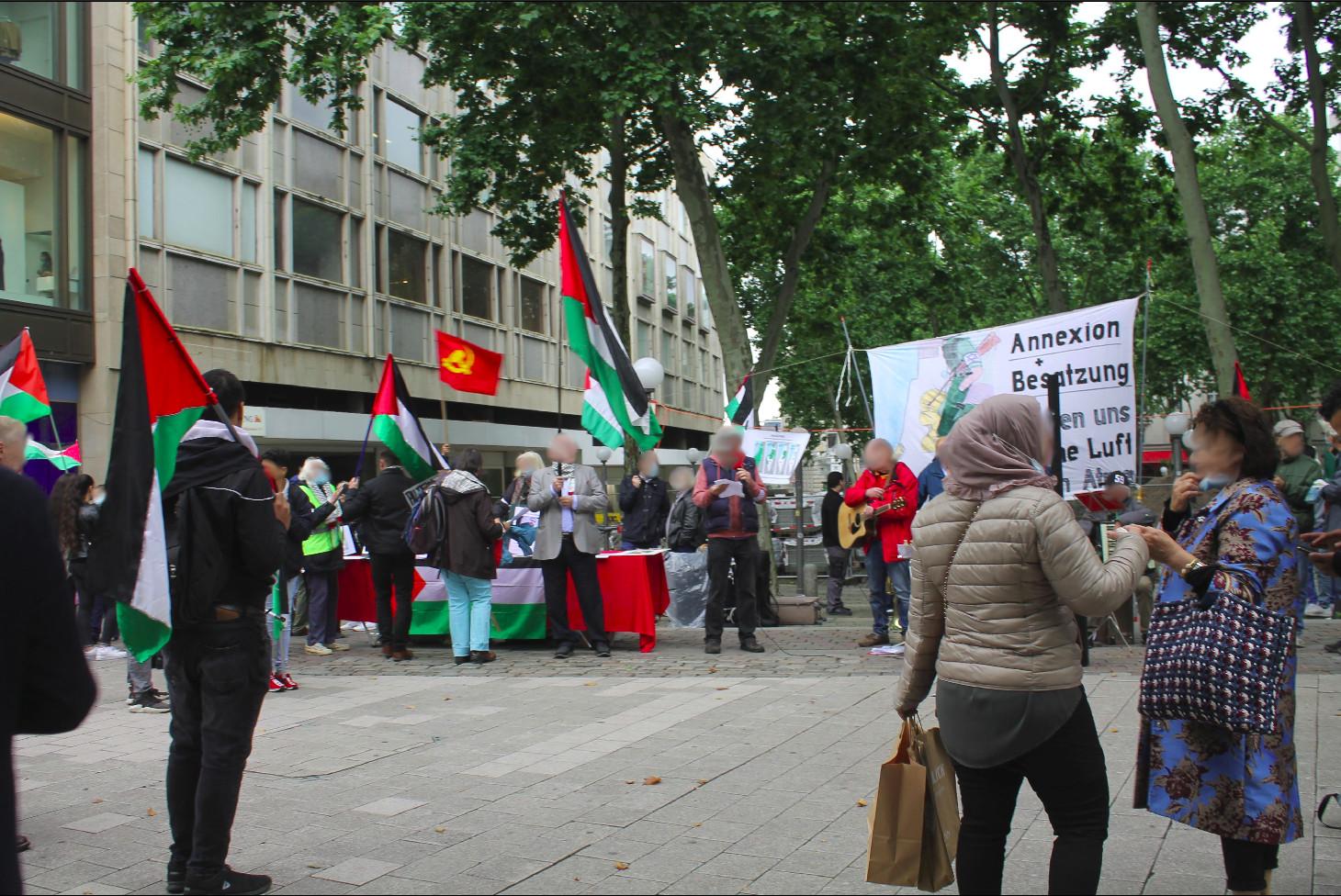 hamburg palästina kundgebung 2