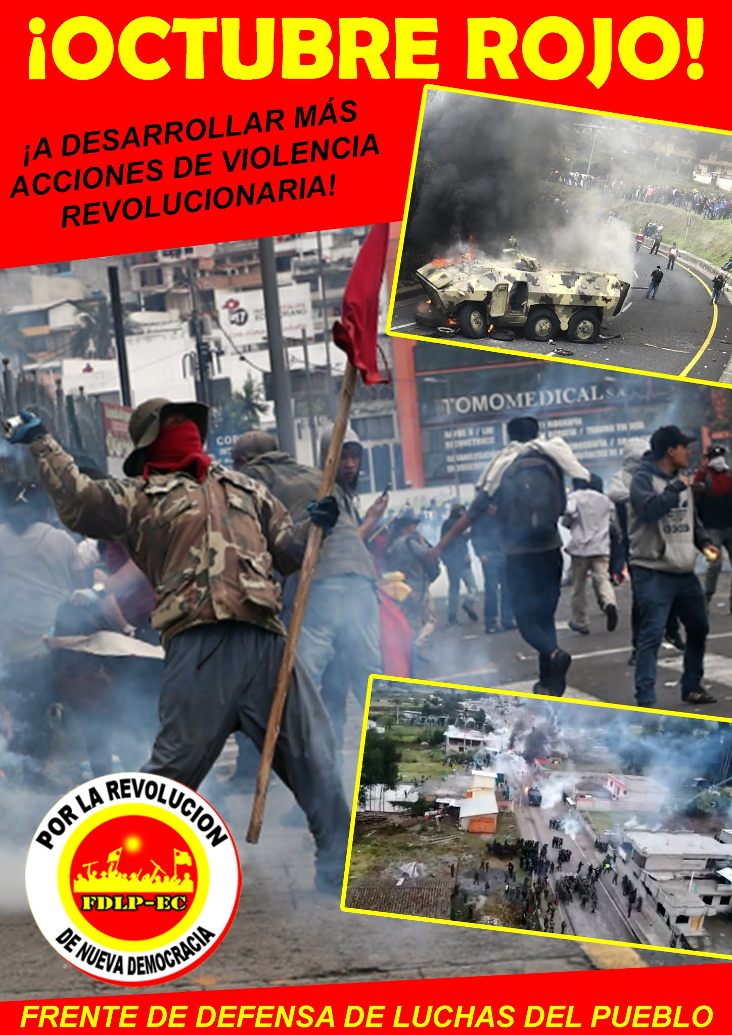 Ecuador Riot October 2020