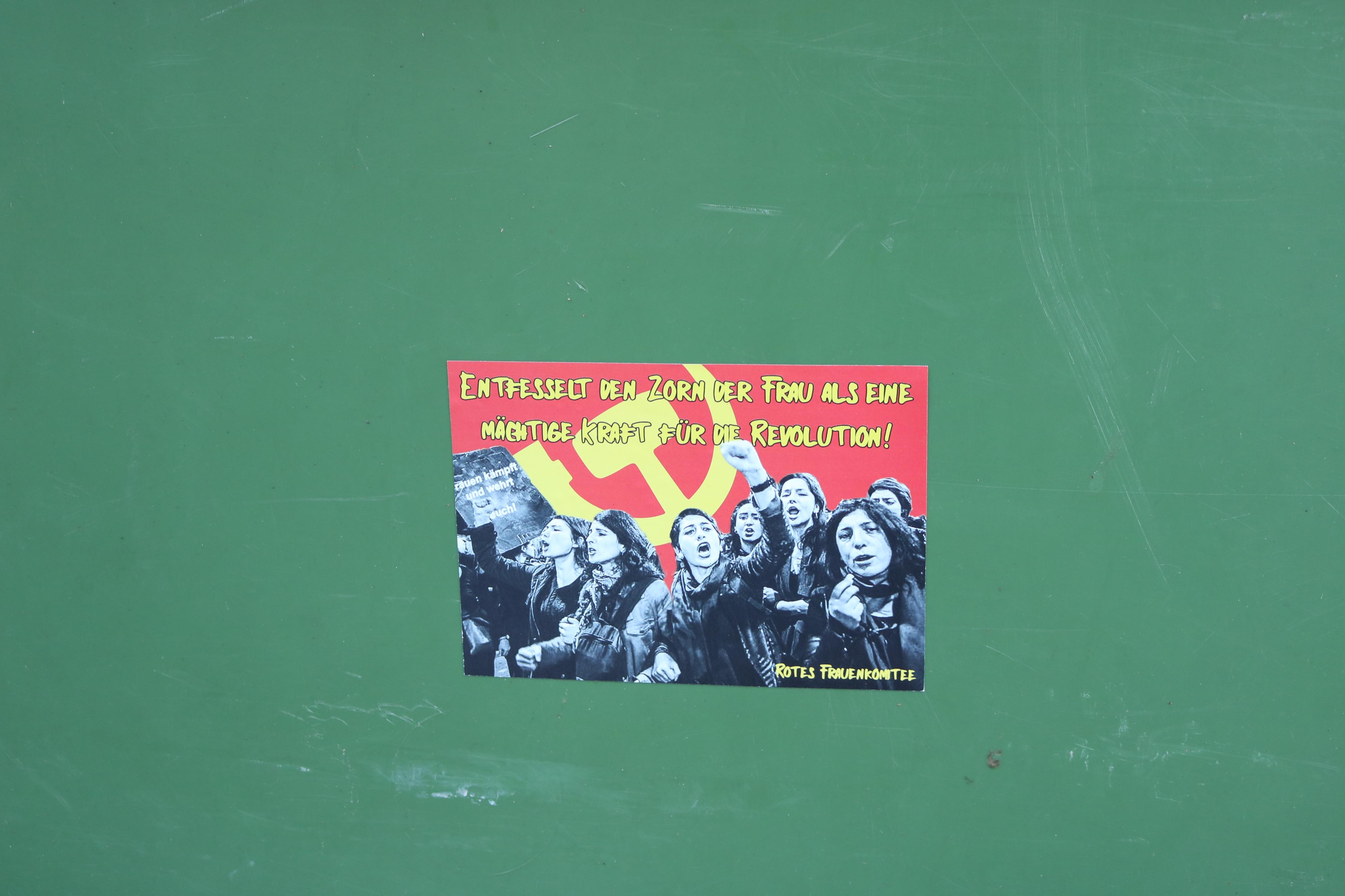 rotes frauenkomitee sticker 1