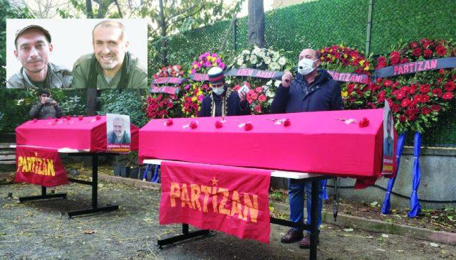Nubar Özgür Beerdigung Istanbul